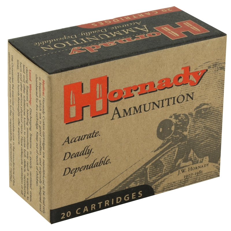 Hornady Custom 357 Sig Ammo 147 Grain XTP Jacketed Hollow Point