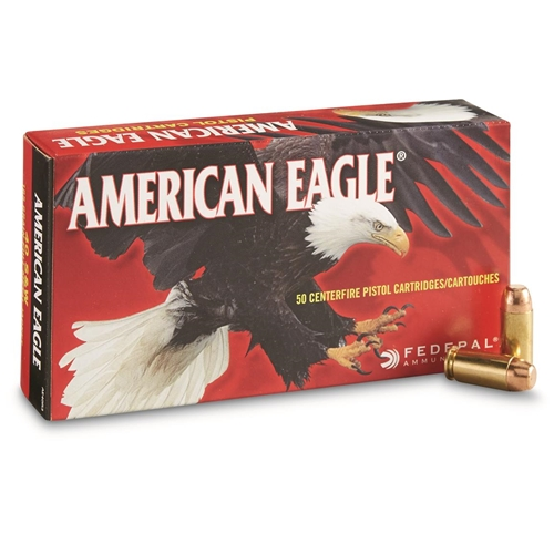 Federal American Eagle 40 S&W Ammo 165 Grain Full Metal Jacket