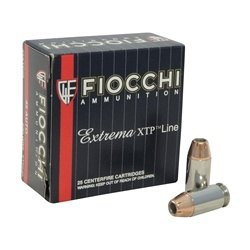 Fiocchi Extrema 45 ACP AUTO 230 Grain Hornady XTP Jacketed Hollow Point Ammo