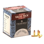 Federal Value Pack Ammunition 22 Long Rifle 36 Grain Copper Plated Hollow Point Box of 525